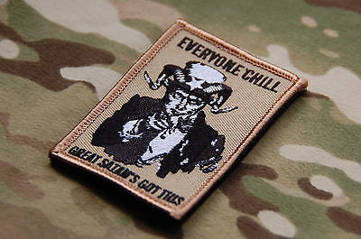 Great Satan's Got This Morale Patch