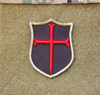 Mini Gold Squadron Crusader Patch