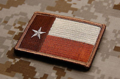 Tan Texas State Flag Patch