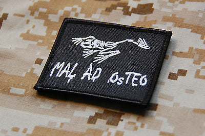 MAL AD OSTEO Morale Patch - Black