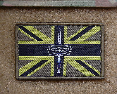 US/UK Subdued Friendship Flag Woven Morale Patch