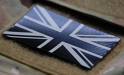 Infrared Union Flag Patch - Tan & Black