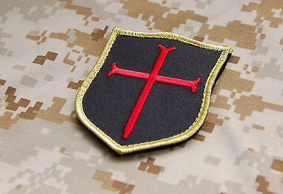 Gold Squadron Crusader Shield Patch