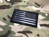 Infrared Multicam Black IR US Flag Patch US Army SF Green Beret CAG REVERSE