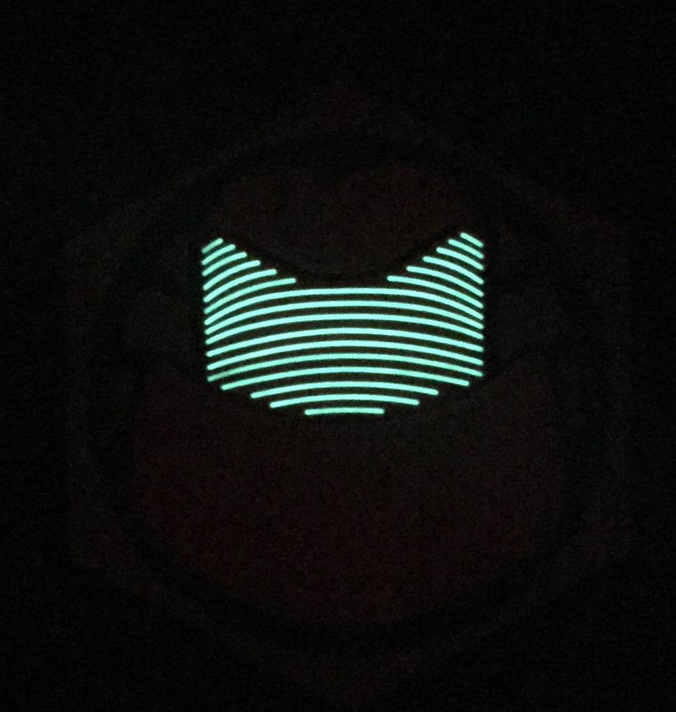 Praetorian Guard 3D PVC GITD Morale Patch
