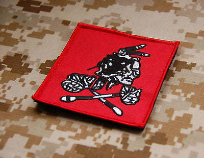NSWDG Red Squadron Team Patch - Red/Red