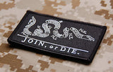 JOIN or DIE Morale Patch - Black