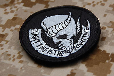 Jormungand NIGHT TIME IS THE RIGHT TIME Morale Patch
