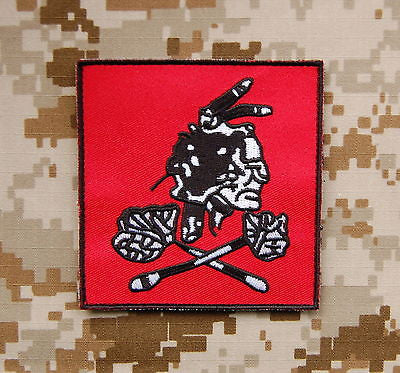 NSWDG Red Squadron Team Patch - Red/Black