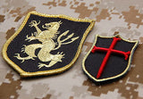 NSWDG Gold Squadron & Mini Crusader Patch Set