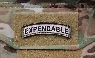 Morale Patch Tab Collection Set Multicam Velcro Afghanistan WTF EXPENDABLE