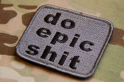 DO EPIC SHIT Morale Patch - ACU