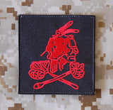 NSWDG Red Squadron Patch Set