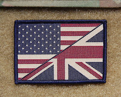 Subdued US/UK Stars & Stripes/Union Flag Friendship Patch