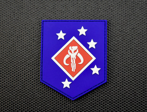 Motorcycle Club Patch 3D PVC Morale Patch