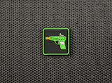 Enhanced Emoji Water Pistol 3D PVC Ranger Eye Morale Patch