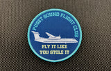 Puget Sound Flight Club Woven Morale Patch