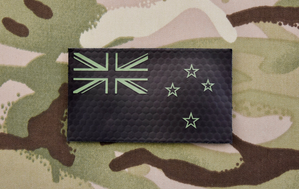 New Zealand Infrared Flag Patch