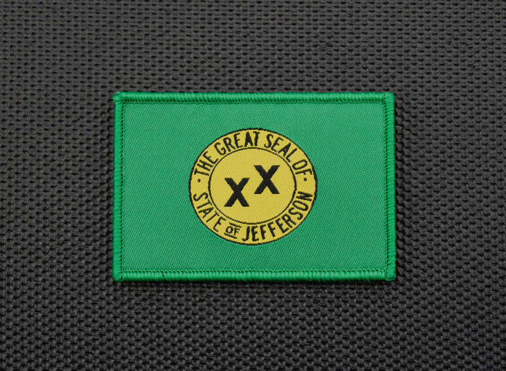 Jefferson State Flag Woven Morale Patch