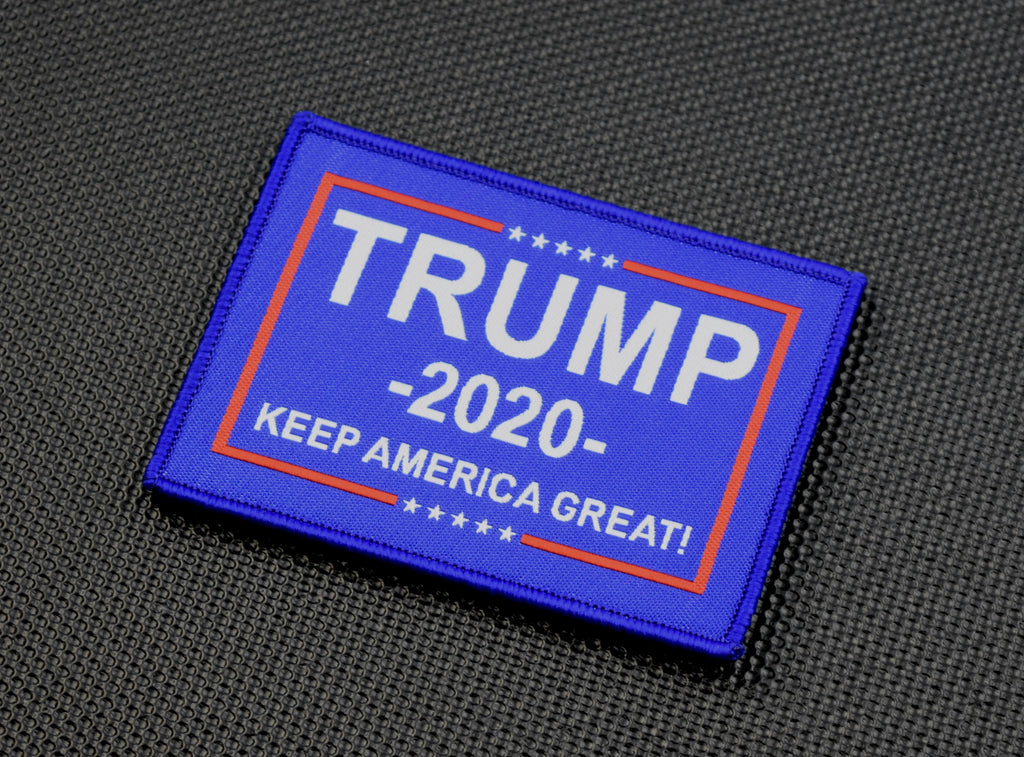 TRUMP 2020 KEEP AMERICA GREAT Woven Morale Patch