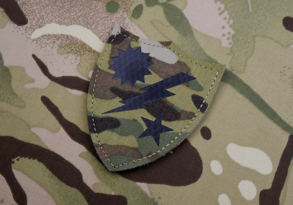 Merrill's Marauders Infrared Multicam IR Morale Patch