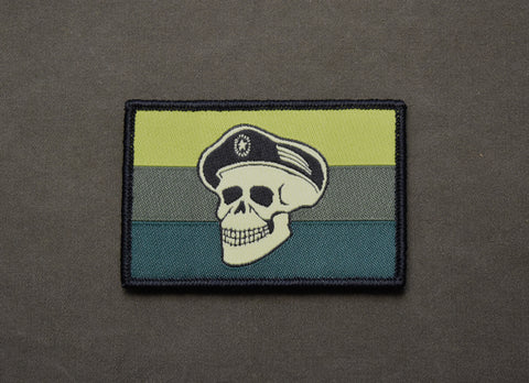 Spetsnaz Skull Russian Flag Morale Patch Set
