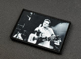 Johnny Cash Finger Sublimated Dye Printed Morale Patch