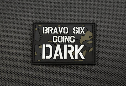 ALL LIVES SPLATTER Glow In Dark 3D PVC Morale Patch
