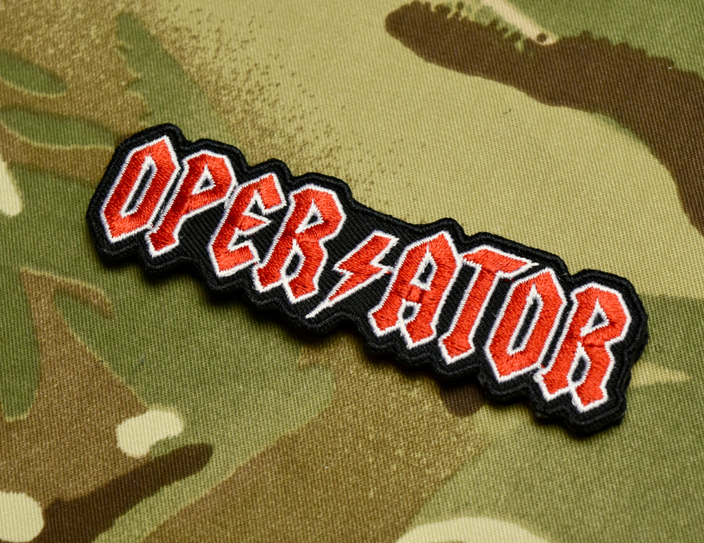 AC/DC Operator Morale Patch