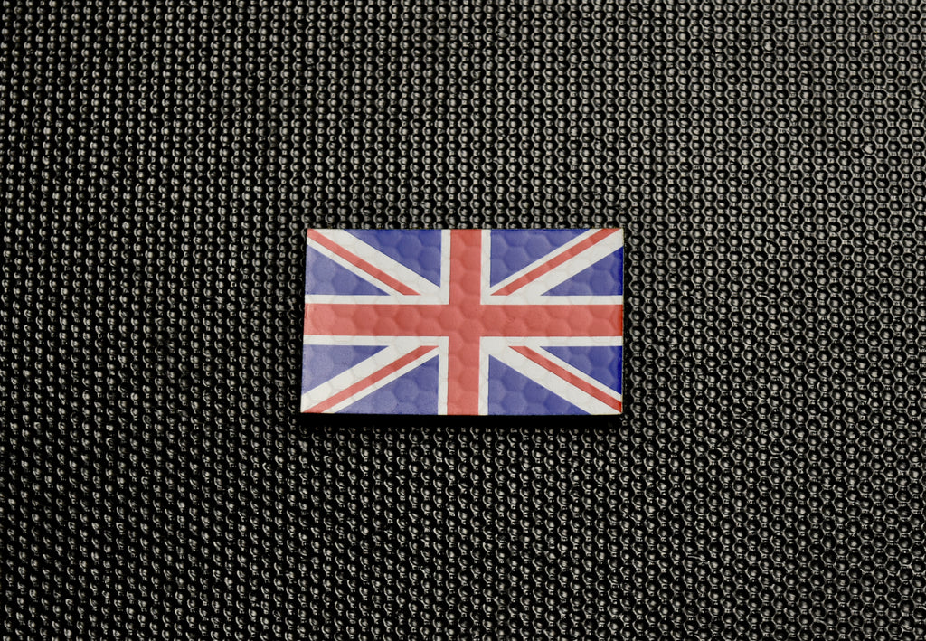 UK IR SOLAS Flag Standard & Mini Full Colour Patch Set