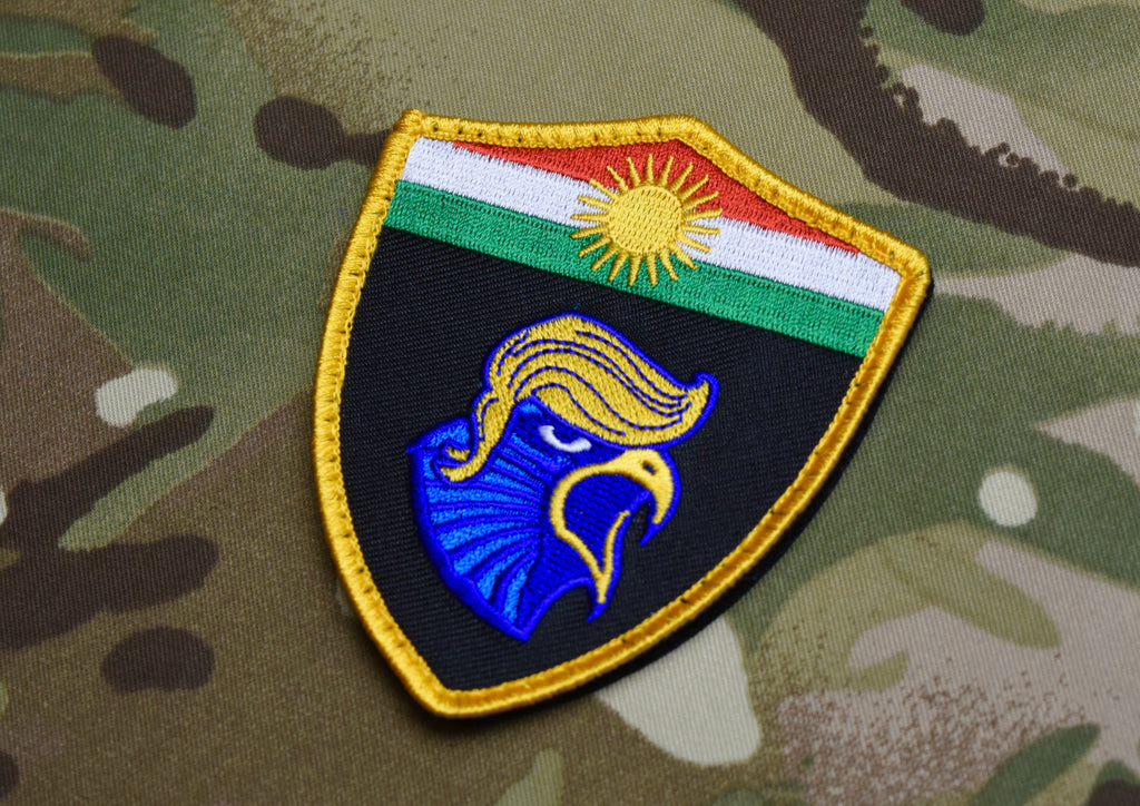 Peshmerga Blue Falcon Morale Patch