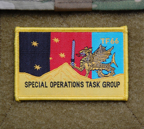 Little Rocketman GITD Woven Morale Patch