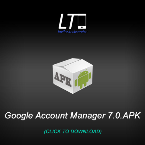 Google Account Manager 7 0 – lavilez techservice