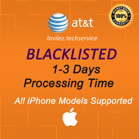 BLACKLISTED ALL AT&T iPhones