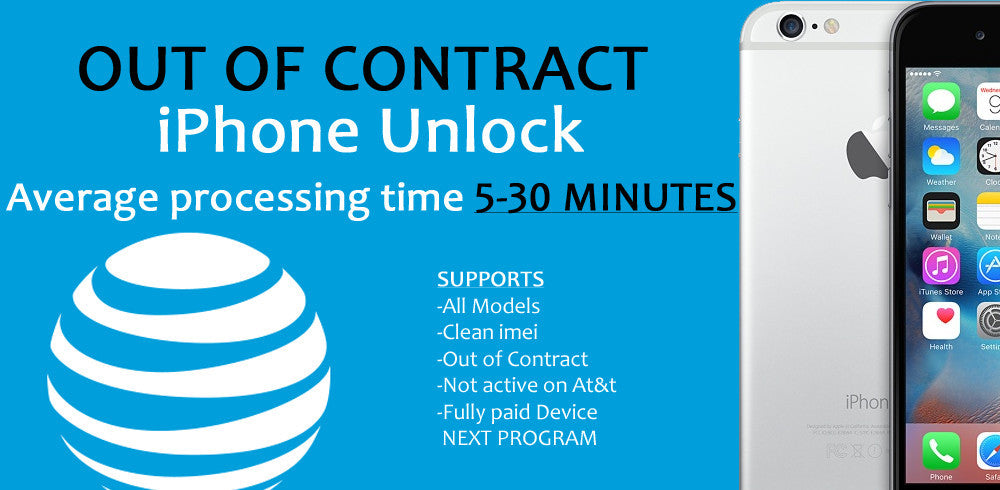 At&t iPhone Out of Contract Unlock