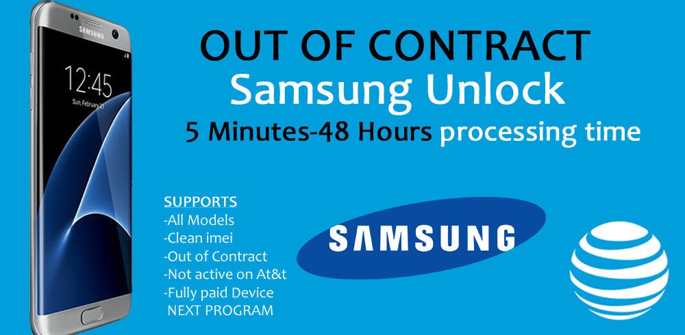 At&t Samsung Out of Contract Unlock