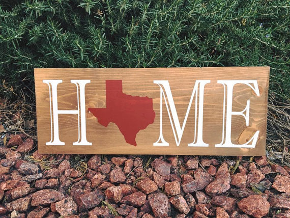 Texas Themed Signs