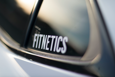 Fitnetics Decal - White