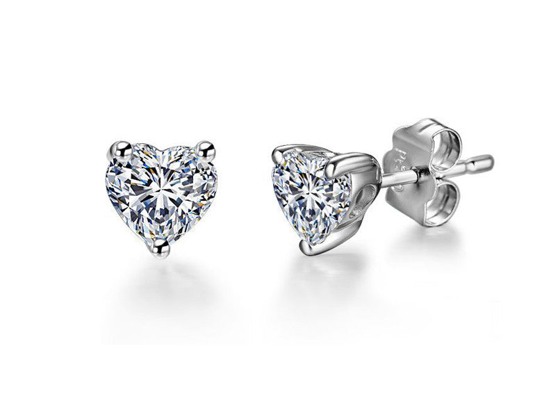 carat earrings ij jewelry i prong diamond color dp platinum cut princess stud amazon j screw com clarity solitaire back