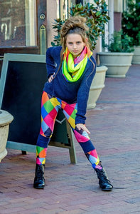 Cool Colorful Infinity Scarf