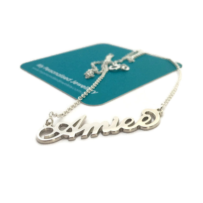 AMIEE - Carrie Style - Sterling Silver - My Personalised Jewellery