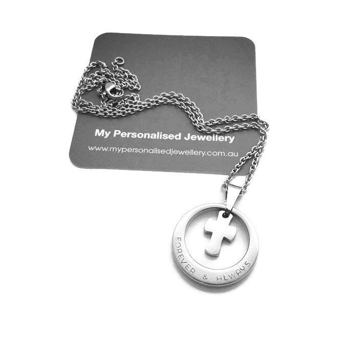 Circle of Cross - My Personalised Jewellery