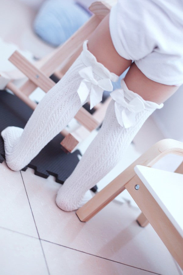 0-10 years baby girls and boys long knee socks 100% cotton solid children leg warmers