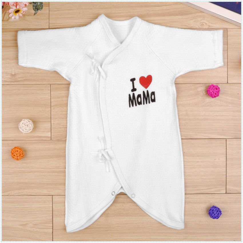 a7826ff0750f 0-1Y Cotton Thick Warm Baby Rompers Girl Boy Baby Pajamas Newborn ...