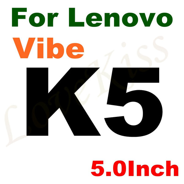 0.26mm 9H Tempered Glass For Lenovo A5000 A2010 Vibe C P1 M P2 C2 K3 K4 K5 K6 Note Power A6000 A6600 A7000 P780 Screen Film