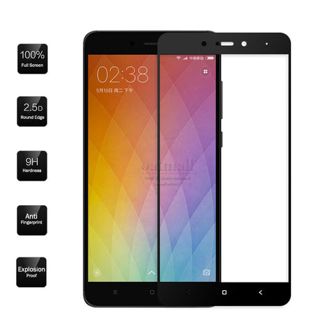 0.26mm Full Screen Tempered Glass Film For Xiaomi Redmi Note 4 Glass Screen Protector Saver MI Redmi 4 pro Note 4 Pro Prime 9H