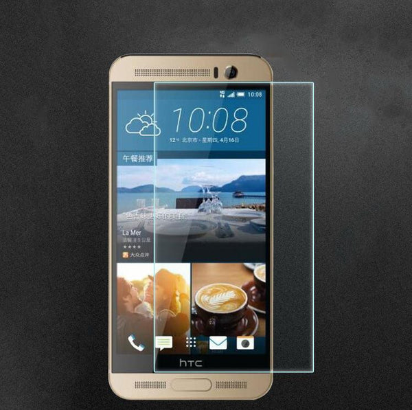 0.26mm Screen Protective Tempered Glass Film For HTC One M7 M8 M9 Screen Protector Cover For For HTC 10 evo Desire 650 830 9H