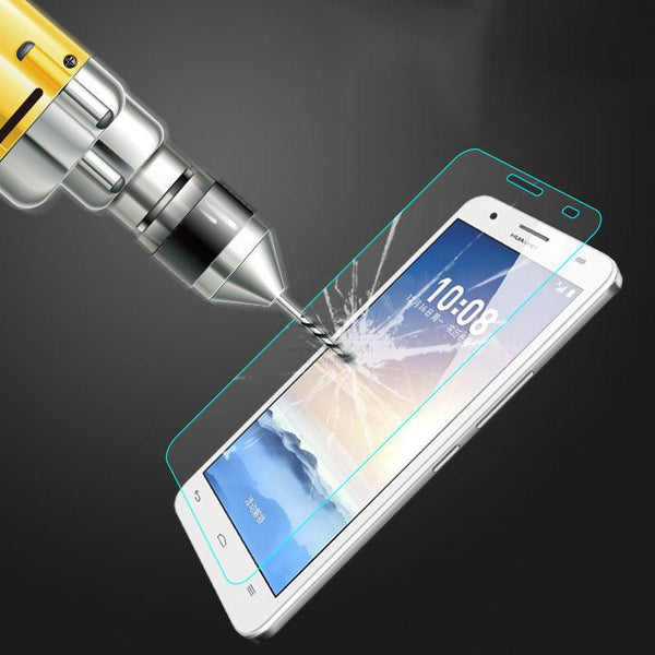 0.26mm Tempered Glass Film For Huawei Honor 8 7 6 plus Screen Protector Case On Honor 6s 6x 5A 5x 4x 4c 3c V8 Glass 9H Hardness