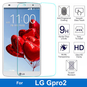 0.26mm Ultrathin Premium Tempered Glass Film For LG GPro2 G Pro2 B1 D837 D830 D838 F350 F350K Screen Protector Protective Film