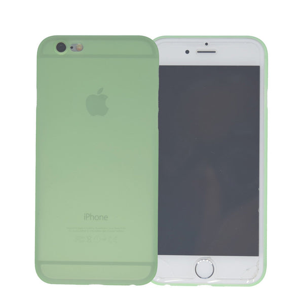 0.3MM Ultra Thin Camera Protection Candy Color Transparent Case Cover Skin For Apple iPhone 6 6S 4.7 inch Clear Slim Phone Matte